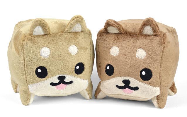 free stuffed shiba cube plush toy pattern