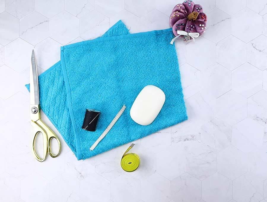 soap pouch supplies