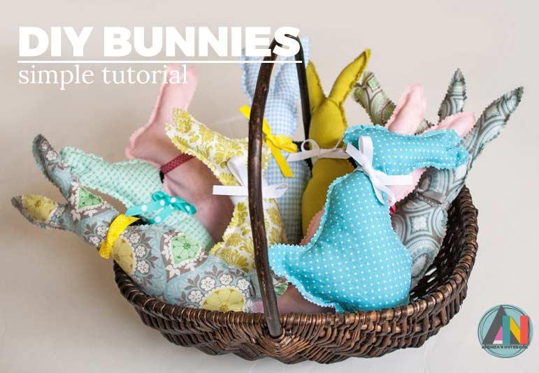 stuffed bunny pillow