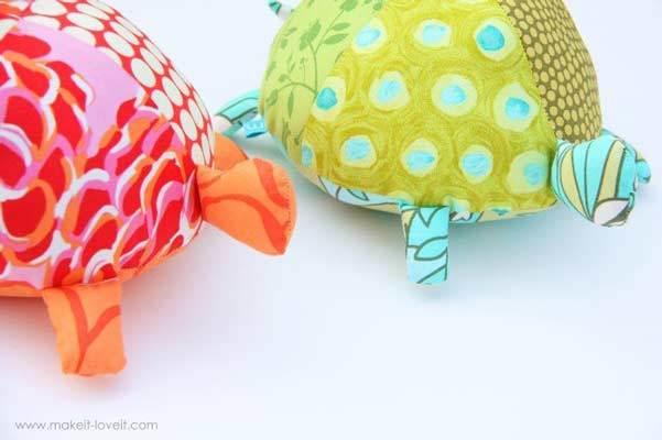 free stuffed turtles pattern