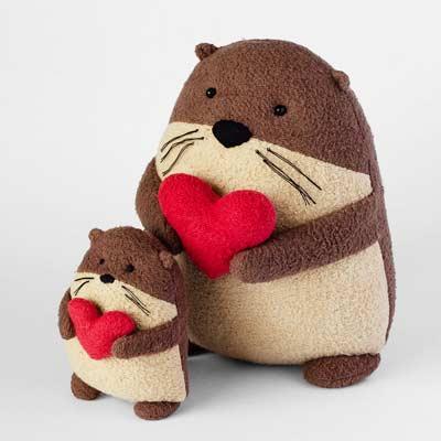 free stuffed otters pattern