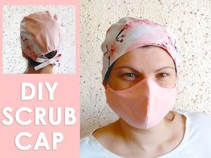 diy surgical scrub cap