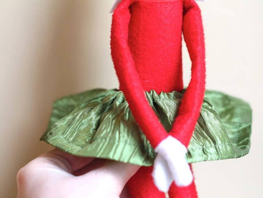 elf on the shelf skirt pattern - tutu