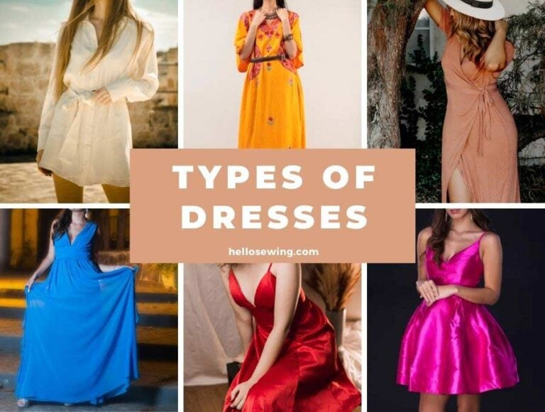 40+ Types of Dresses – Ultimate Guide to Dress Styles