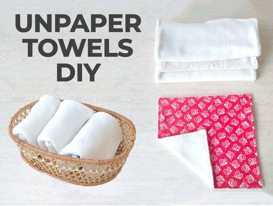 Unpaper towels diy with video