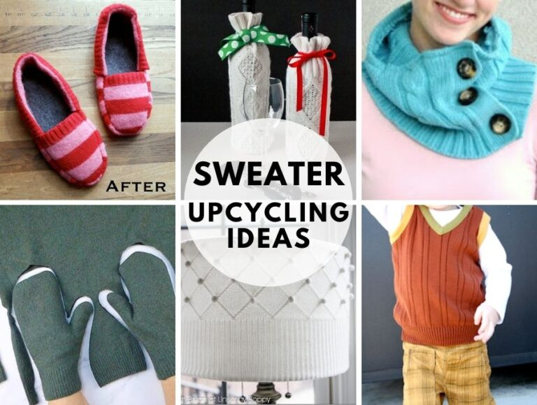 Repurpose or Upcycle Old Sweaters