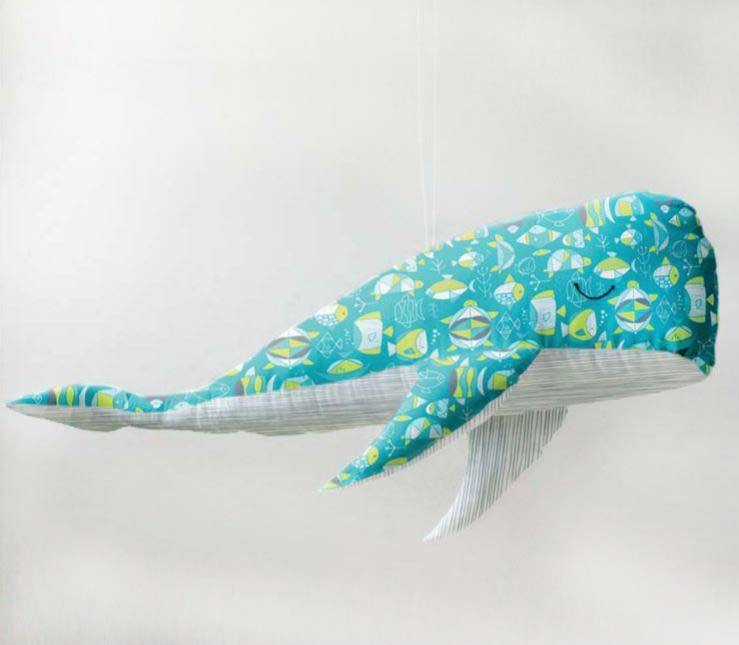 whale - free plush toy pattern and tutorial