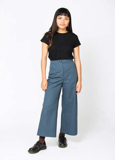 wide leg pants pattern