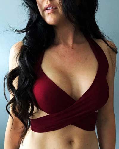 free wrap swimwear top