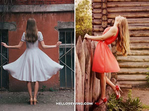 x line dress